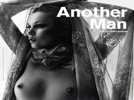 Charming message Kate moss topless something