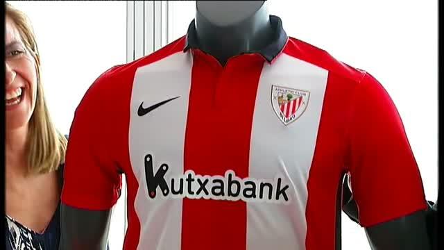 394268147f2a5 Público TV - Presentación de altura de la camiseta del Athletic Club de la  temporada 2015- 2016