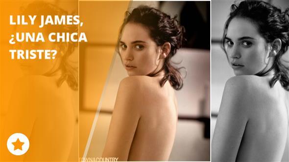 Público Tv Lily James Se Desnuda Y Nos Enseña Su Lado Oscuro