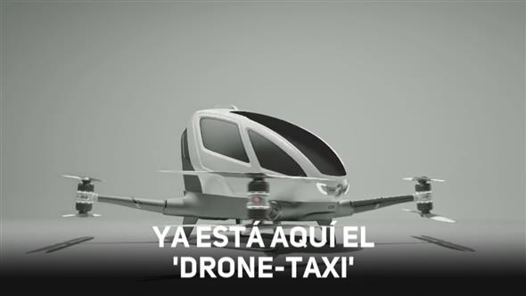 Resultado de imagen para Servicio de taxis voladores sin conductor será estrenado en Dubai