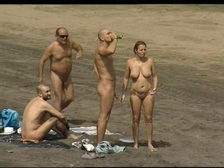 frotar público desnudo