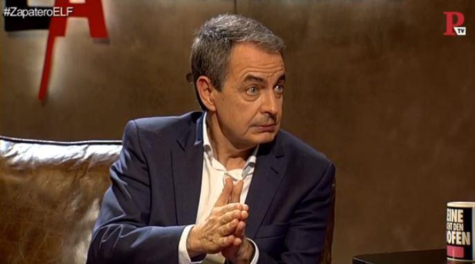 Entrevista a José Luis Rodríguez Zapatero - En la Frontera, 20 de diciembre de 2018 - Público TV